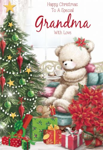 Happy Christmas To A Special Grandma With love